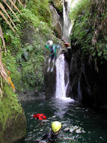 Canyoning en Martinique